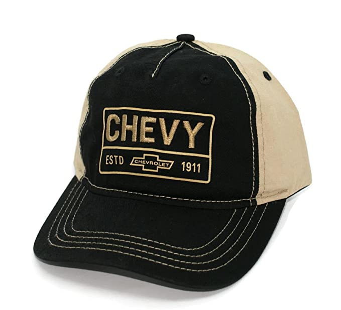 2845595c38b Amazon.com  Hat - Chevy estd 1911 Unstructured embroidered Ball Cap ...