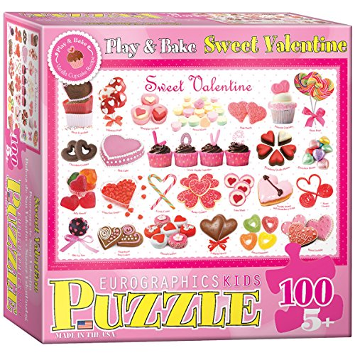 Sweet Valentine Puzzle, 100-Piece