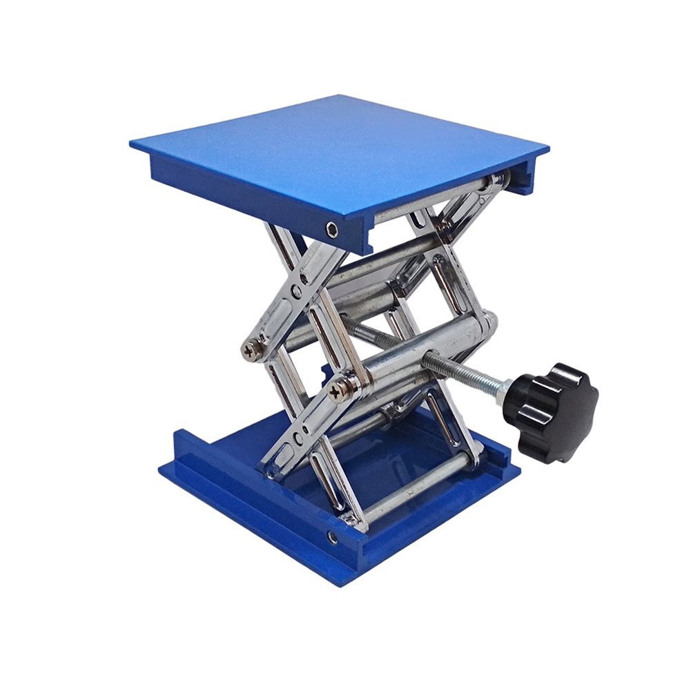 Manual Lab Jack Elevator Optical Sliding Lifting Platform Stage Manual Vertical Translation Stage (8x8'')