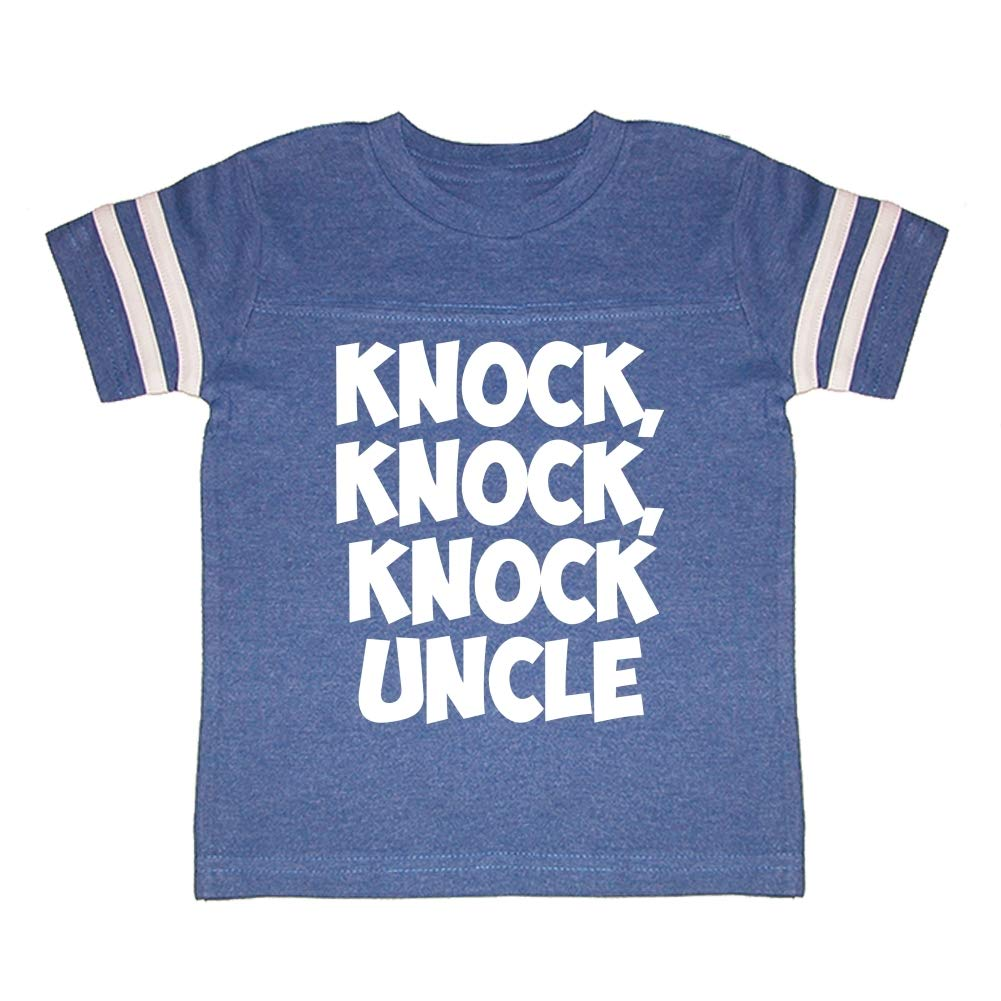 Knock Knock Knock Uncle Toddler//Kids Sporty T-Shirt