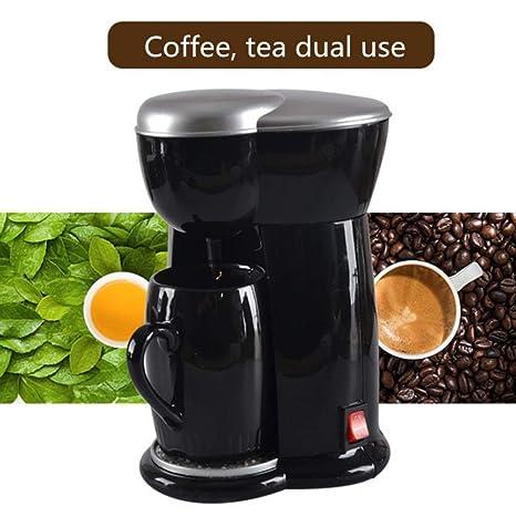 SZYLHJ Mini cafeteras Máquina de café eléctrica automática de ...