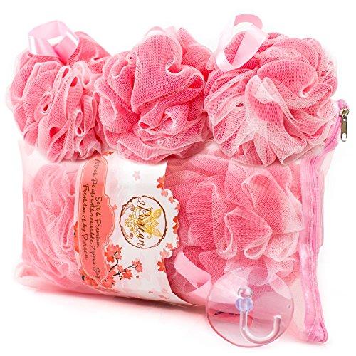 Bath Sponge Pink Loofah Sponges product image