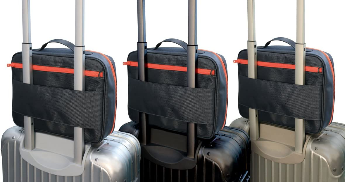 【日本正規代理店品】TUNEWEAR TOTAL CARRY PACK - Style A (バッグインバッグ) グレイ/オレンジ TUN-BG-000029