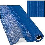 New Blue Gossamer Roll 100 FT X 3 FT Wedding Aisle Table Cover