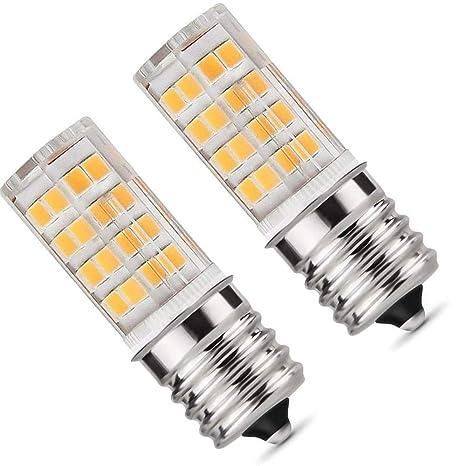 Bombilla LED E17, luz de horno para microondas, 5 W, luz ...