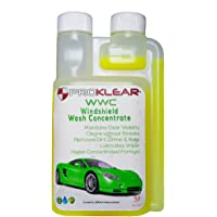 PROKLEAR Wash Additive Concentrate - Keeps Windshield Clear and Wipers Lubricated 50 Refills (250ml)