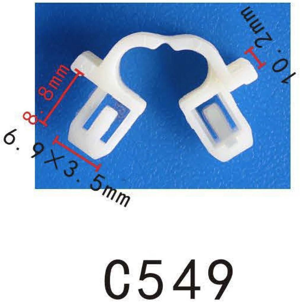 Bumper Grommet #10 Screw Size Nut Nylon Grommet Clip 90107-SX0-003 Honda Acura R