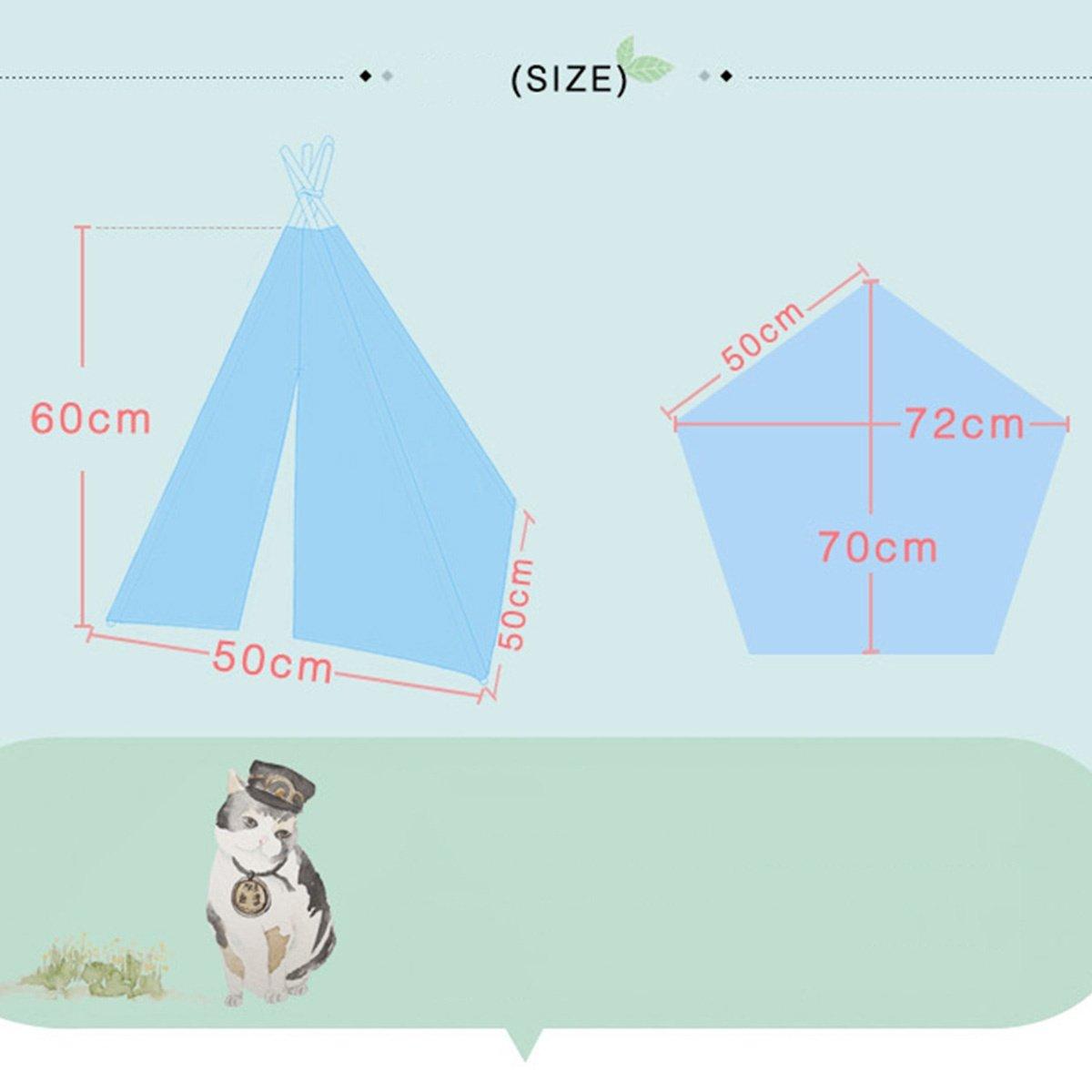 shanzhizui Tienda de Mascotas de Primavera y Verano Caseta de Perro del Gato Extraíble y Lavable Perros pequeños y medianos Suministros para Perros, ...