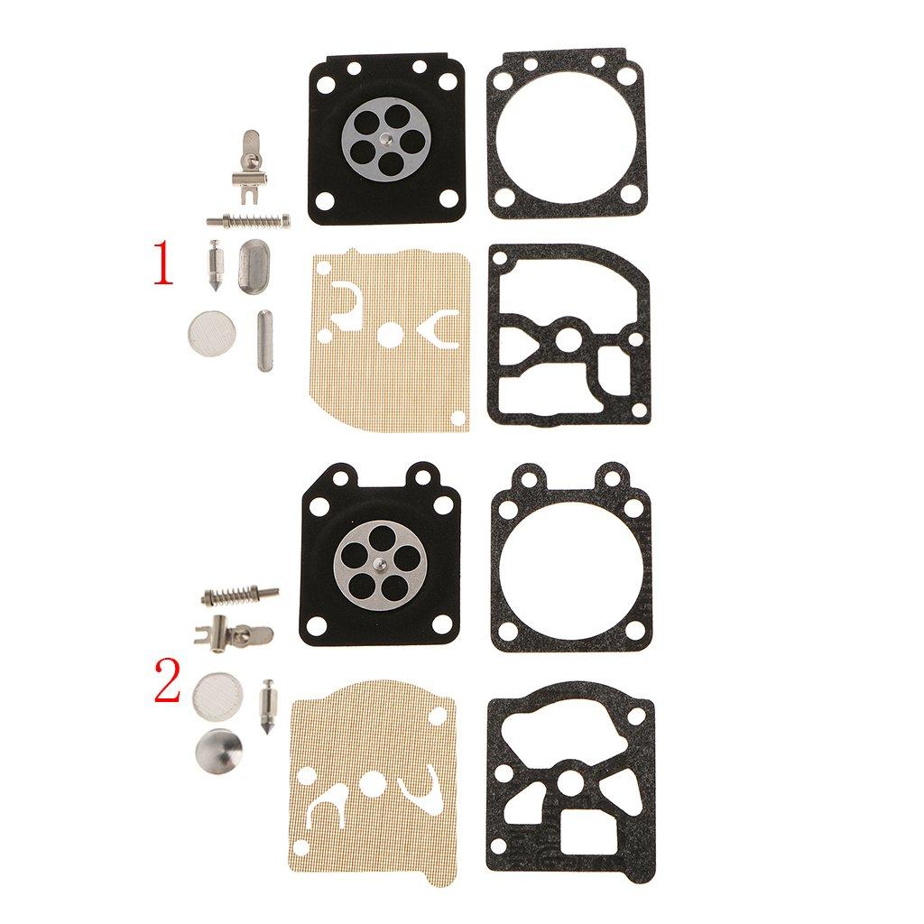 B Blesiya 4x Carburador Junta De Reparaci/ón Del Diafragma Kit F//Zenoah G3800 Motosierra 45cc 38cc
