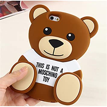 coque iphone 6 nounours 3d