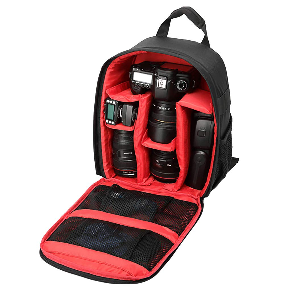 多機能アウトドア防水耐衝撃カメラ収納バッグ 旅行バックパック Canon EOS Sony Nikon デジタル一眼レフカメラ用 B07P9C2CY9