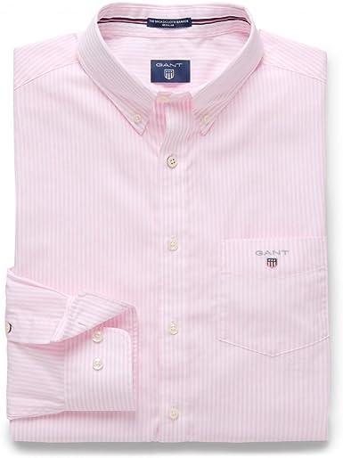 GANT The Poplin Banker Shirt Camisa para Hombre