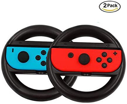 Lily Nintendo Switch Joy-con Steering Wheel, Agarres para Manos ...