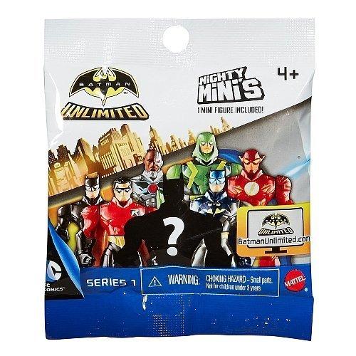 Batman v Superman Unlimited Series 1 Mighty Mini's Mini Action Figures