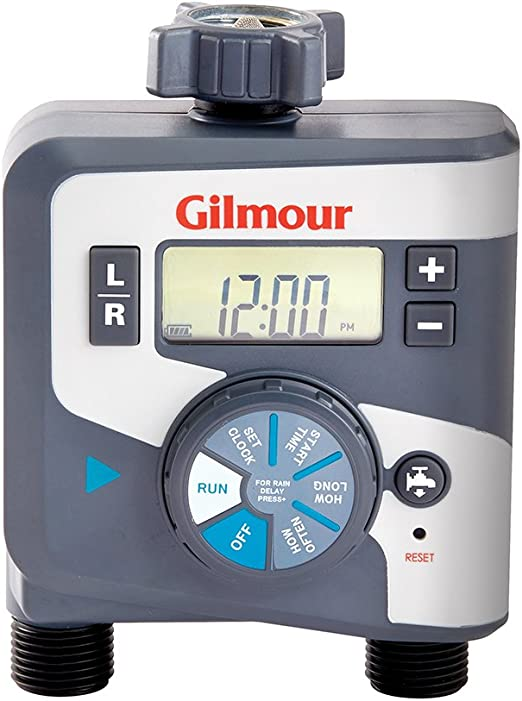 Gilmour 400GTD Outlet Electronic Water Timer, Dual - Reliable