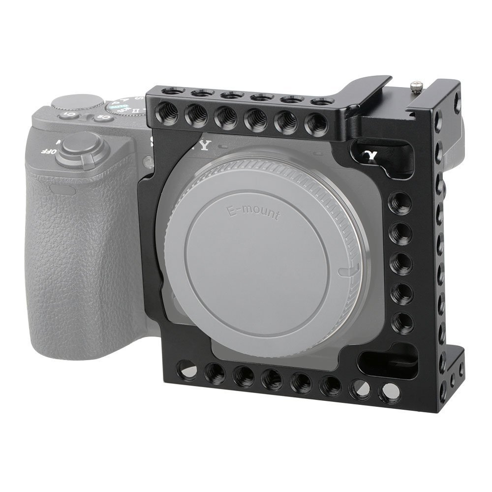 Cage Para Sony Alpha A6600/a6500 1/4-20 Adapter Hole