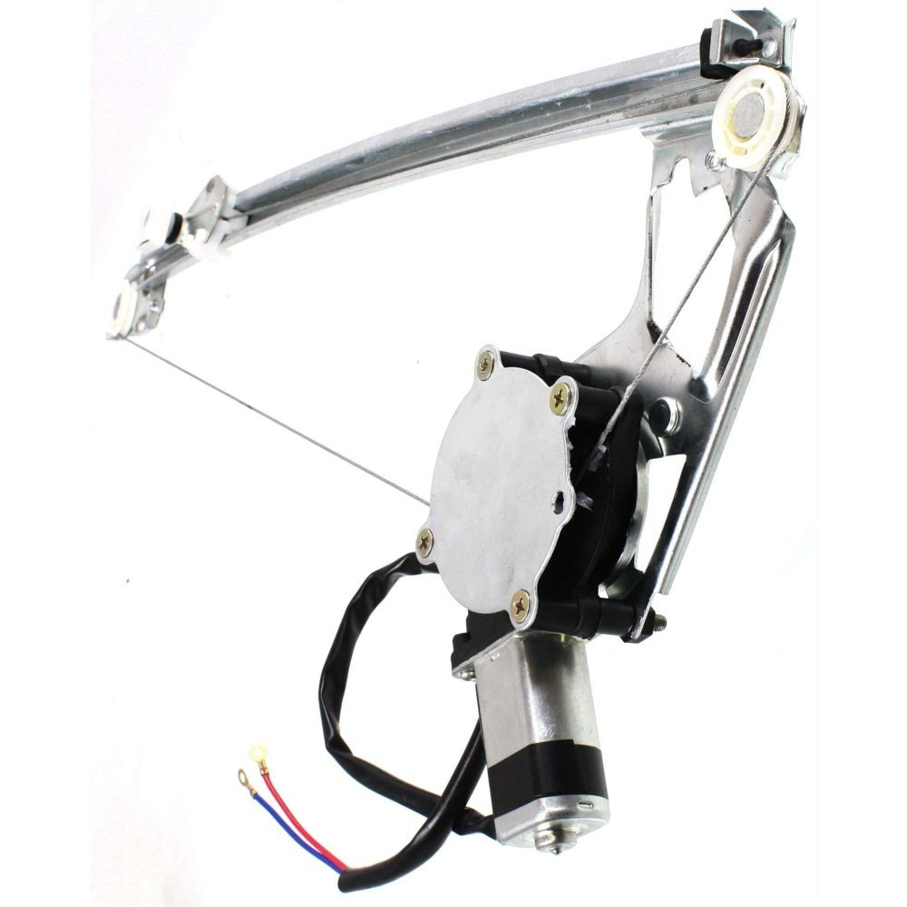 Chassis 124 Rear Window Regulator for MBenz E-Class 86-95 Left Power W//Motor Coupe//Sedan//Wagon