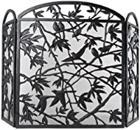 NACH Fireplace Screen, Bird Design