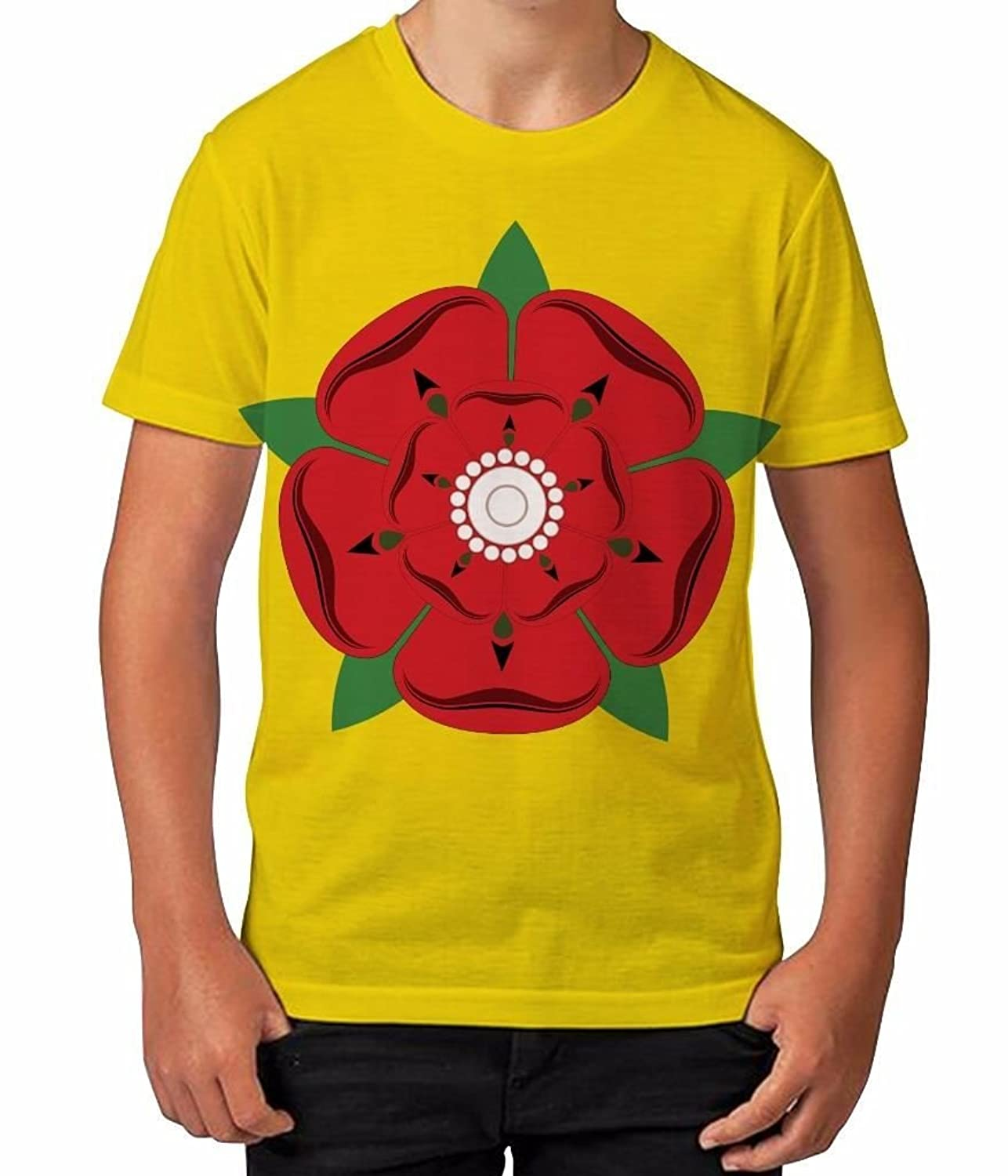Amazon.com: Kids Graphic T Shirt Boys Top Lancashire Rose Youth Tee Shirt: Clothing