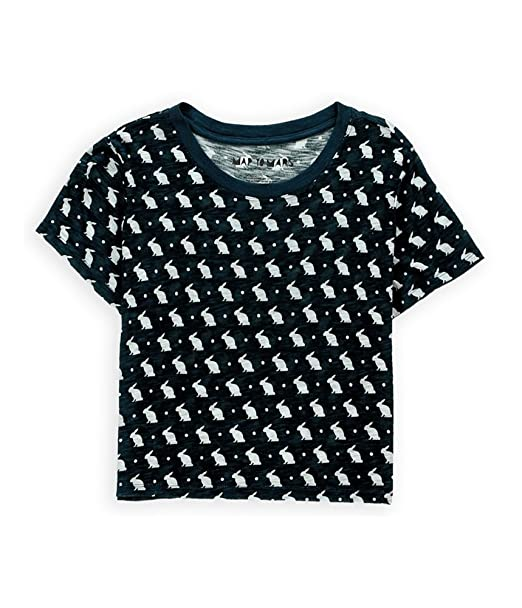 Aeropostale Womens Bunny Boxy Graphic T-Shirt