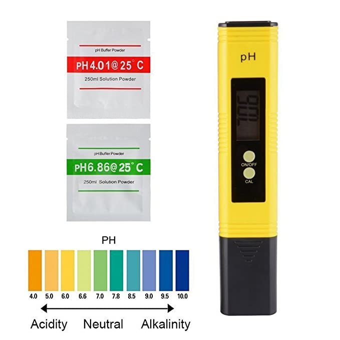Medidor TDS + EC y Ph Metro con Función automática de Calibración, Precisión Monitor de Calidad de Agua Bolígrafo Bolígrafo Portátil, Ph Tester: Amazon.es: ...