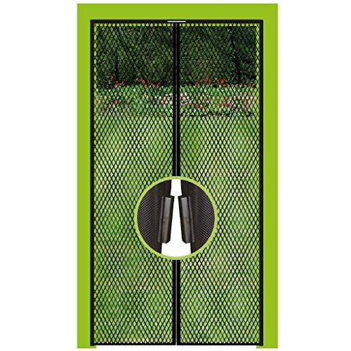 Insektenschutz Magnetvorhang Fliegengitter für Türen, in Länge und Breite individuell kürzbar. FBA (130x220cm)