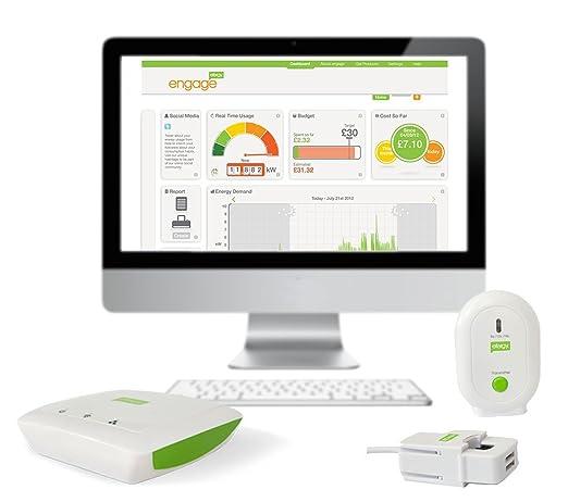 61 opinioni per Efergy Engage HUB Classic, HUB di Monitoraggio del Consumo di Energia, Bianco