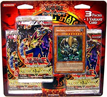 YU-GI-OH! Yugioh Retro Pack 2 SE Special Edition Blister Pack (3 Packs and 1 Variant Card) by Konami by: Amazon.es: Juguetes y juegos