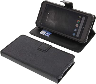 Foto Kontor Book Case For Cat S52 Book Style Black Elektronik