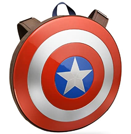 bc567c278e Amazon.com  Marvel Avengers  Age of Ultron Captain America Shield Backpack   Toys   Games