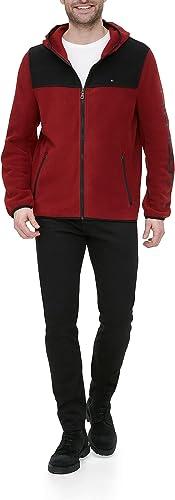 Details about  /Tommy Hilfiger Boys Navy Detachable Hood Fleece Lined Puffer Full Zip Jacket