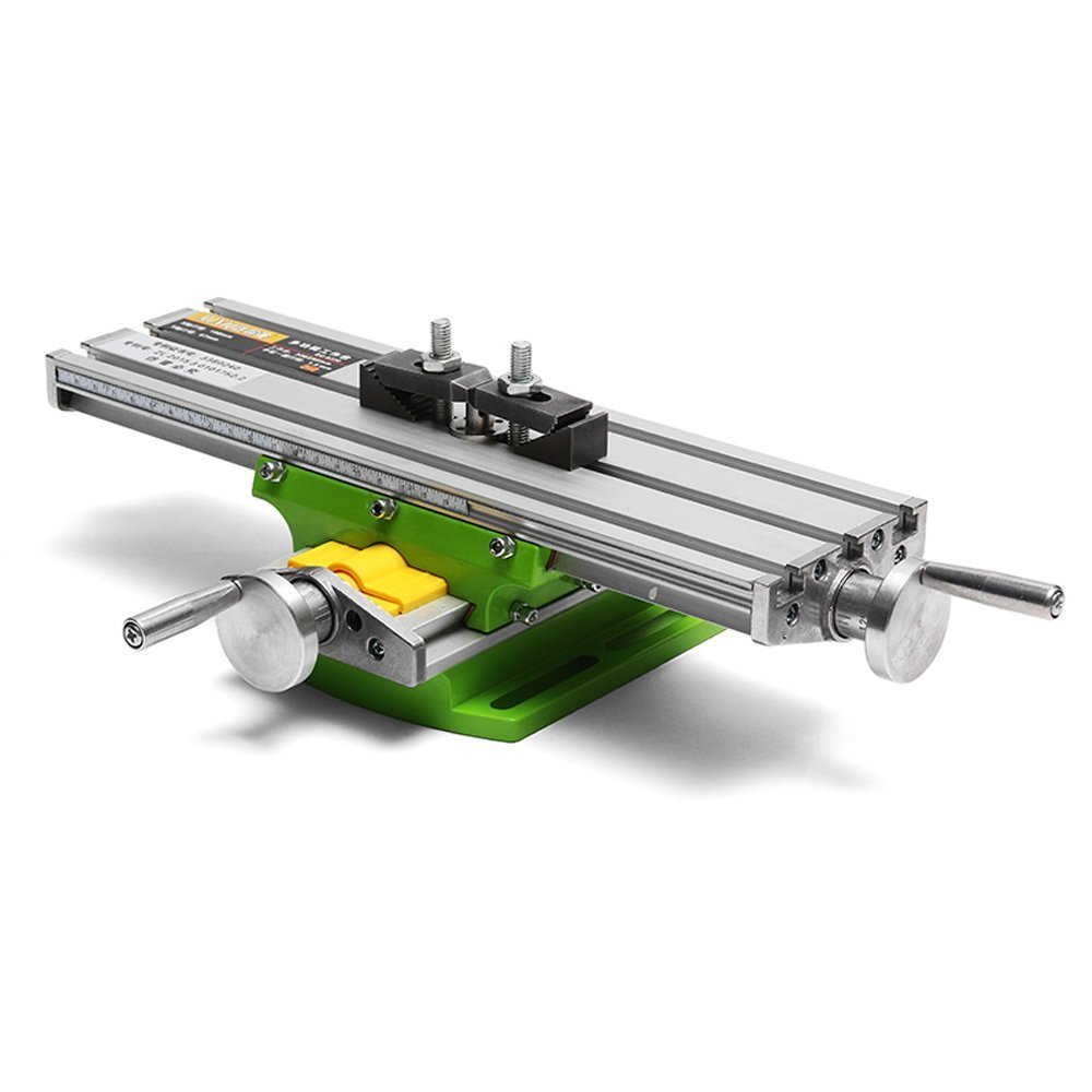 Lukcase Multifunction Worktable Milling Working Table Milling Machine Compound Drilling Slide Table For Bench Drill(Medium-Sized)