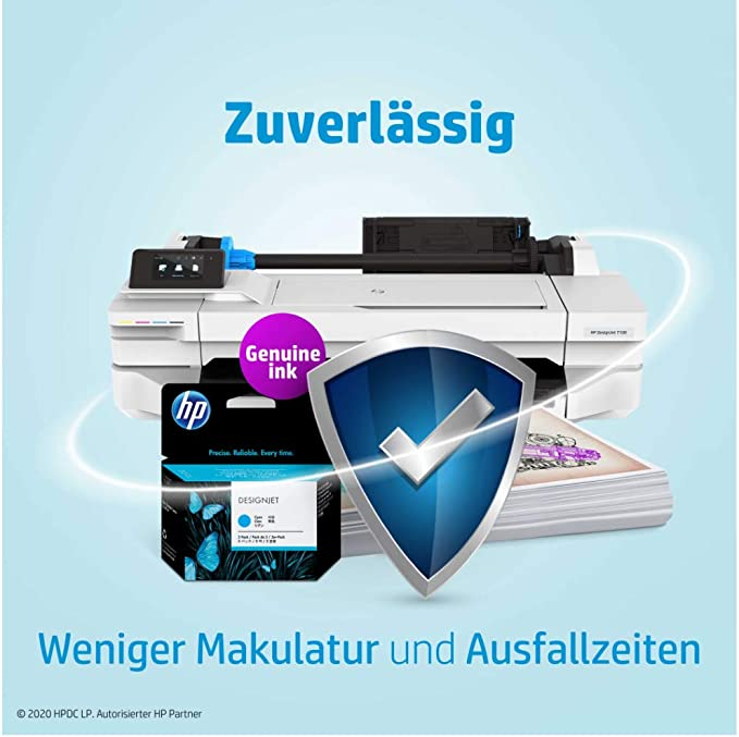 Hp F9k16a Ink Cartridge For Printer Magenta Bürobedarf Schreibwaren