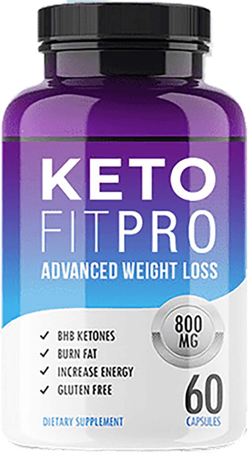 Keto Fit Pro – Advanced Ketosis Weight Loss – Premium Keto Diet Pills – Burn Fat for Energy not Carbs
