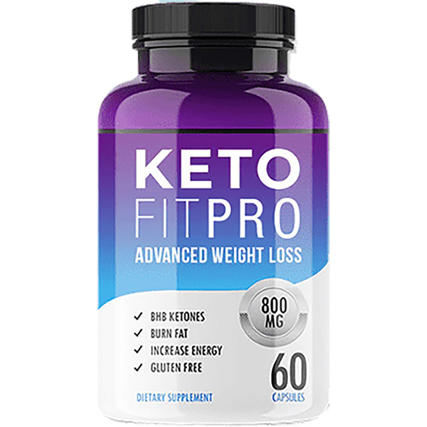 Keto Fit Pro - Advanced Ketosis Weight Loss - Premium Keto Diet Pills - Burn Fat for Energy not Carbs by Keto Fit Pro