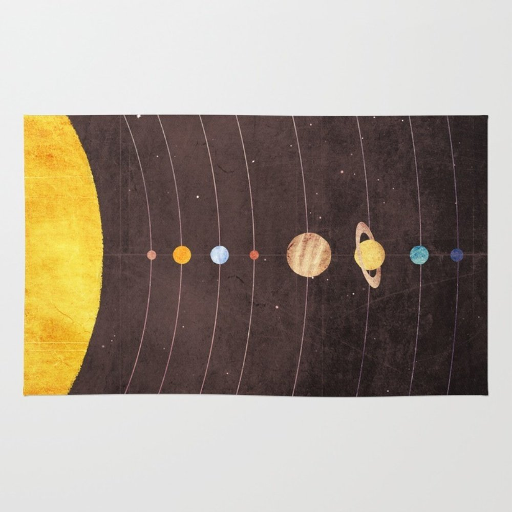 Society6 Solar System Rug 2' x 3'