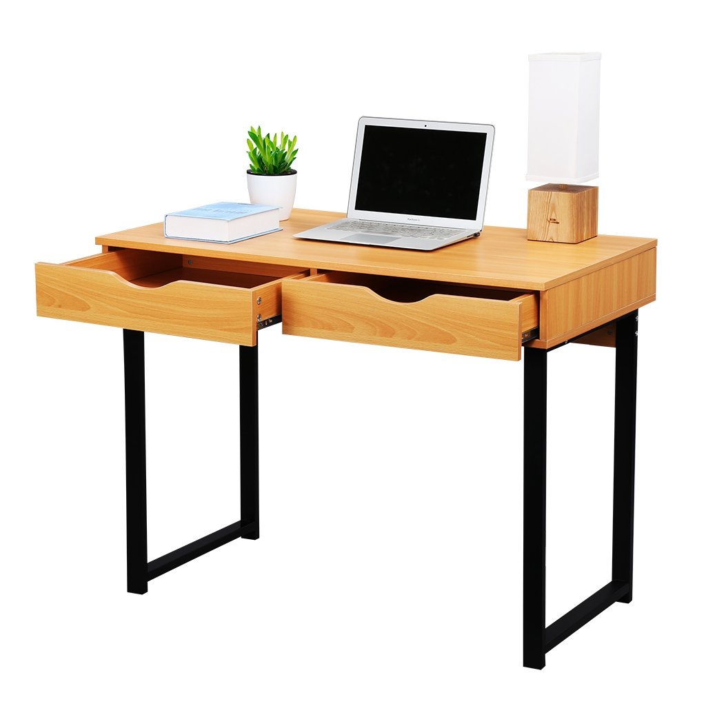 word 39office desks workstations39and. Amazon.com: LANGRIA Office Computer Desk Modern PC Laptop Table Study Home Writing With Drawers, Pear Wood Color: Products Word 39office Desks Workstations39and O