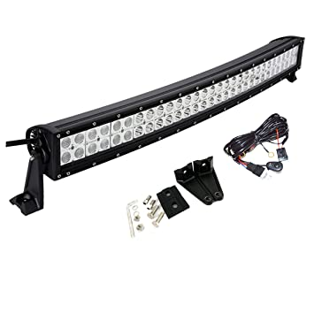 """32/"""" 180W LED Work Light Bar Combo Off-road Driving Truck SUV with Wiring Harness"""