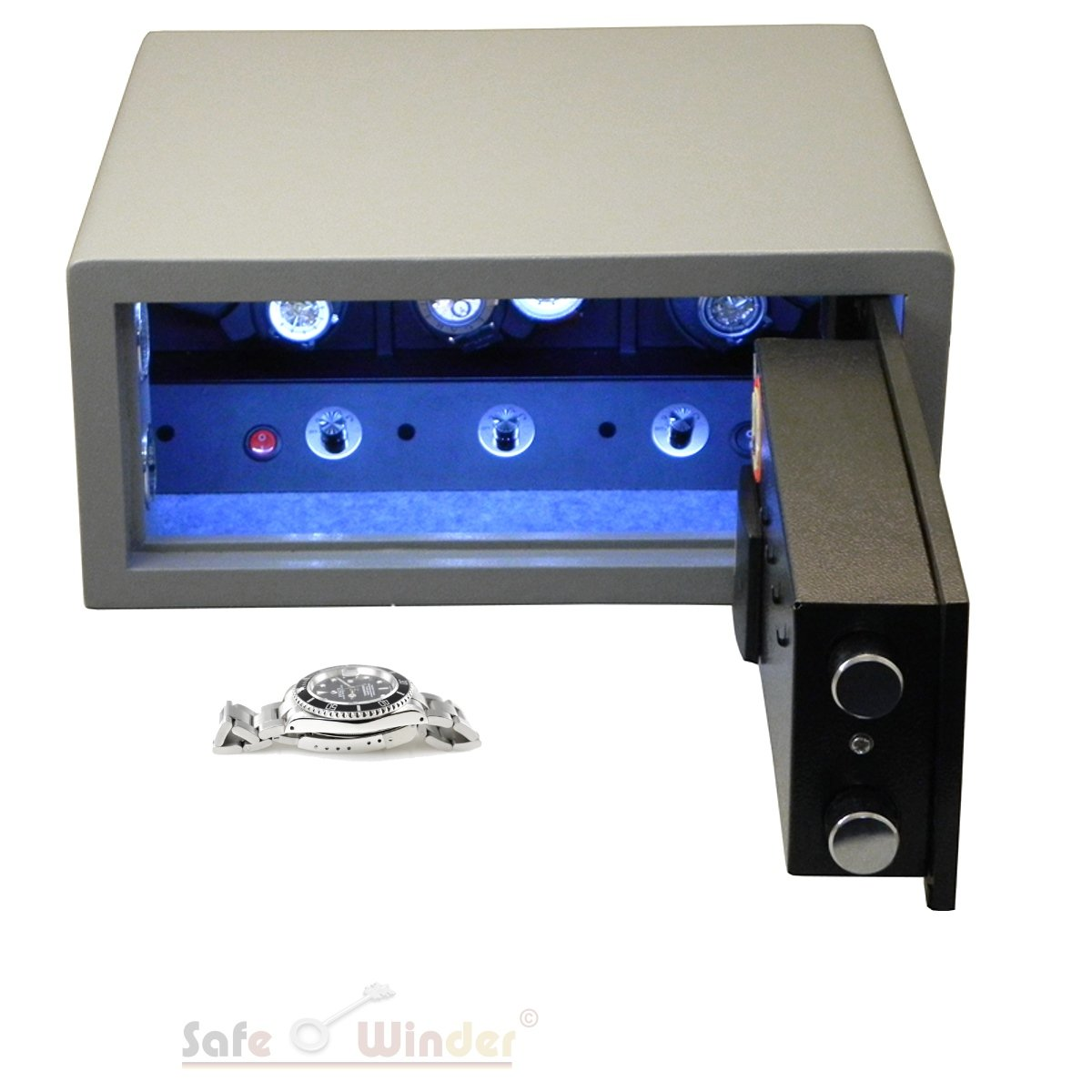 Safewinder® Type 6 S Uhrenbeweger & Safe
