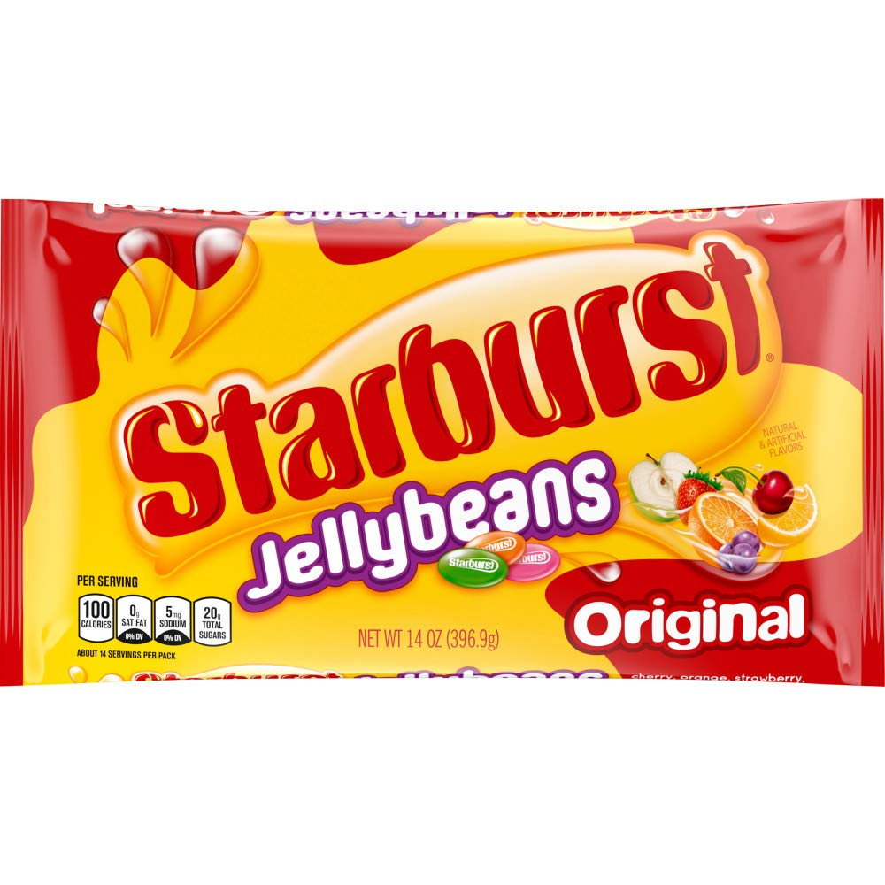 Starburst, Assorted Fruit Jelly Beans, 14 oz