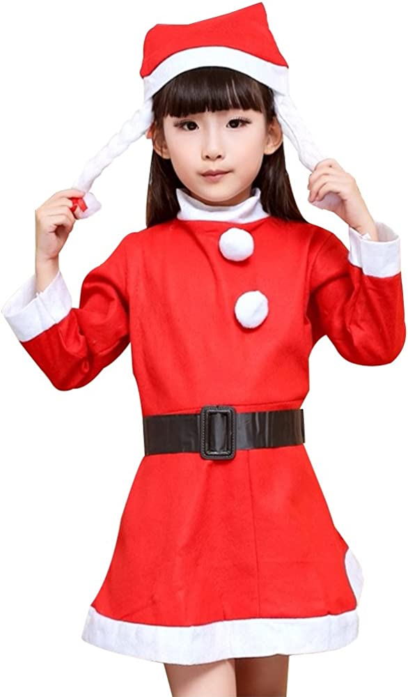 Amazon.com: Christmas Costume ropa infantil (Santa Suit bebé ...
