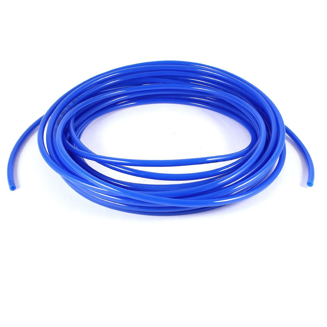 Uxcell a12022700ux0184 10M 32.8Ft 6mm x 4mm Pneumatic Polyurethane PU Hose Tube Pipe Blue