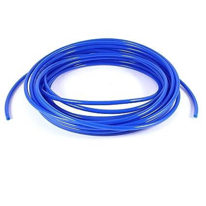 Flexible PU Schlauch Pneumatisch Polyurethan 6 x 4mm Schlauch 3 Meter Lang Blau