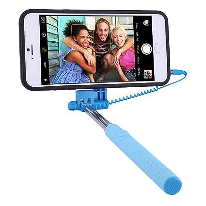 buy online 86c24 6bb98 ProgramX iPhone 6S Plus Selfie Stick, Portable Extendable Monopod ...