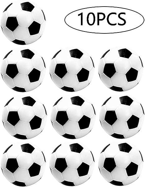 Mesa Mini Pelotas De FúTbol FutbolíN Profesional FutbolíN De Mesa Pelotas De FutbolíN Game Futbol PláStico Mesa FutbolíN Balones Madera FúTbol Piernas FúTbol FúTbol NiñOs Y Adultos Fiesta 10 Piezas: Amazon.es: Deportes