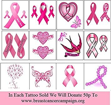 Amazon.com : Breast Cancer Collection (Breast Cancer Temporary ...