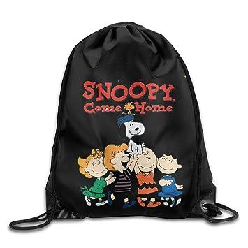 Snoopy Come Home cordón mochila blanco talla única: Amazon.es: Electrónica