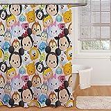 Jay Franco and Sons Disney Tsum Tsum Stacks Shower Curtain