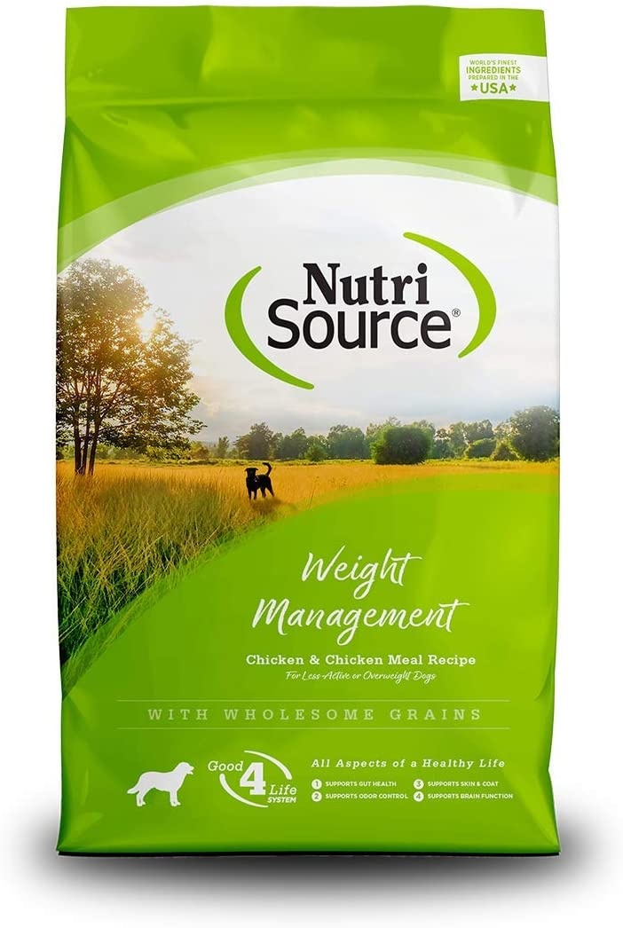 Nutrisource Weight Management Dry Dog Food 5 Pounds