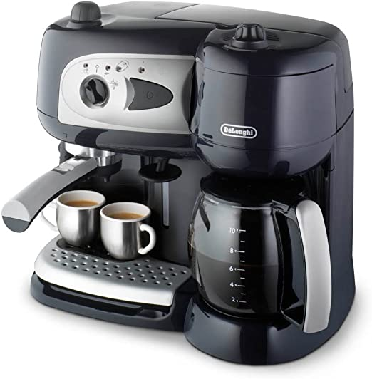 DeLonghi BCO 260.CD.1 Independiente Manual - Cafetera (Independiente, Cafetera combinada, 2,6 L, Dosis de café, De café molido, Negro): Amazon.es: Hogar